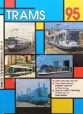 Book cover of Trams 1995 by HOOGERHUIJS, Herman van't & SCHENK, Bas